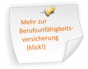 Berufsunfähigkeitsversicherung Beratung in Karlsruhe