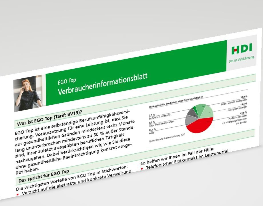 HDI-Berufsunfaehigkeitsversicherung