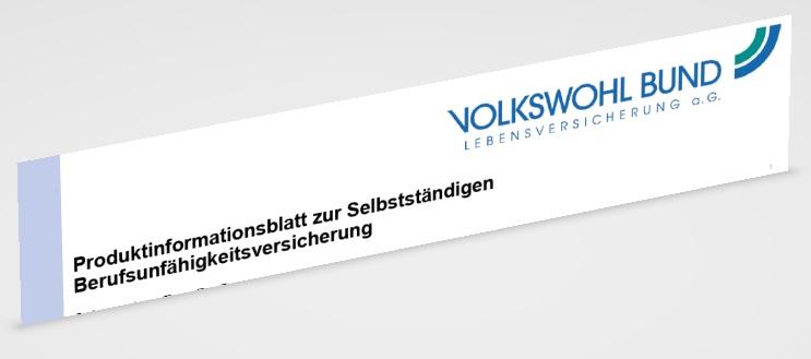 Volkswohlbund Berufsunfähigkeitsversicherung