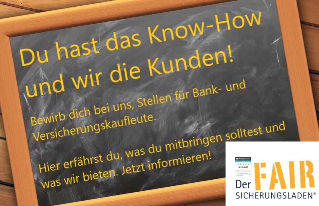 Stellenangebote Versicherungskaufleute Bankkaufleute Karlsruhe