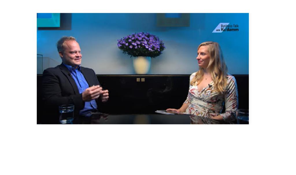 unabhängiger Versicherungsmakler bei Business Talk am Kudamm